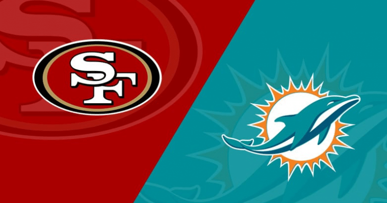Dolphins vs 49ers 11/10/20