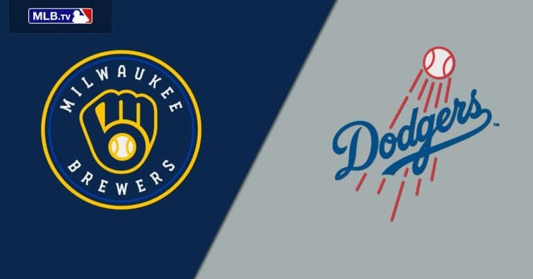 Brewers vs Dodgers 01/10/20